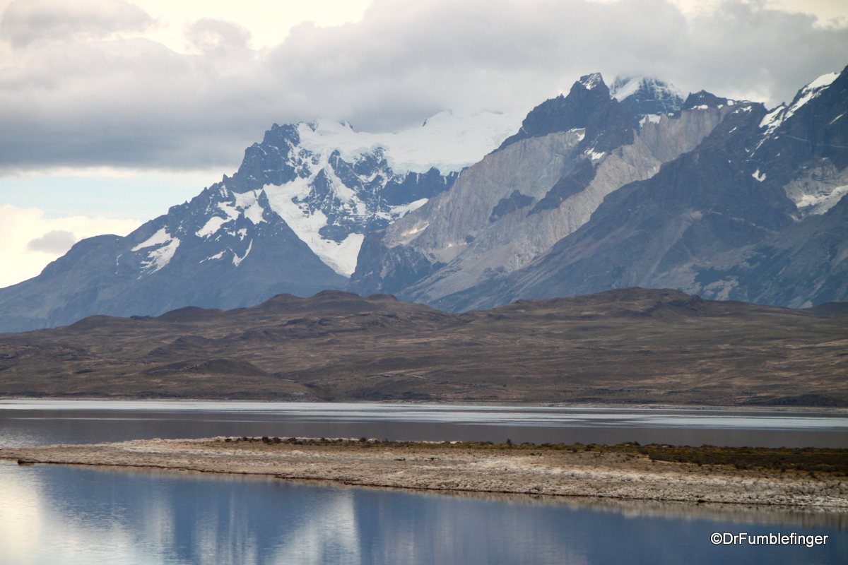 Arrival at Torres del Paine