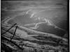 20 Berkeley Pit 1979-1980, a few years before the closure of hte mine.  Library of Congress