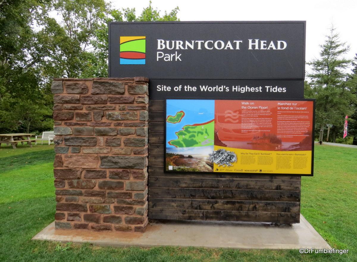 Burntcoat Head Park, Nova Scotia