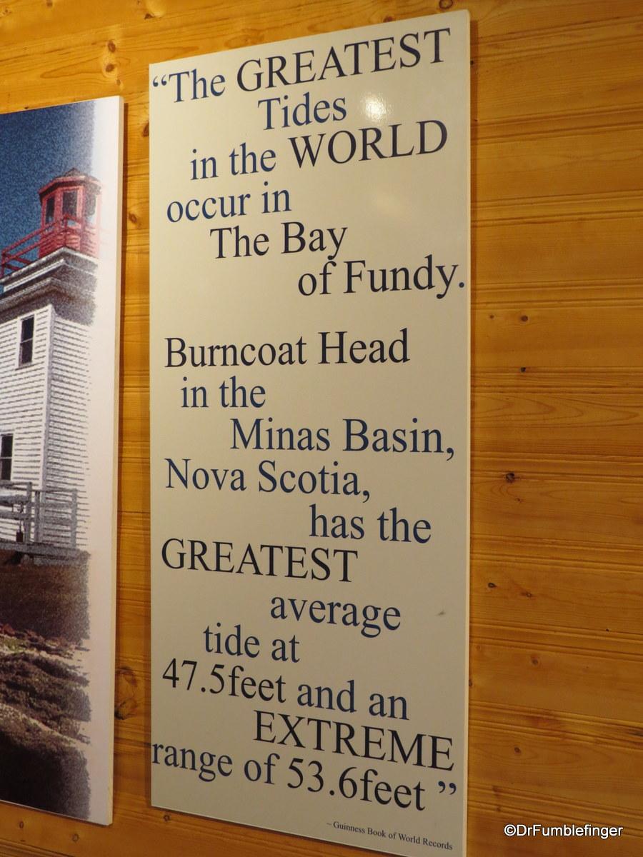 Visitor Center, Burntcoat Head Park, Nova Scotia