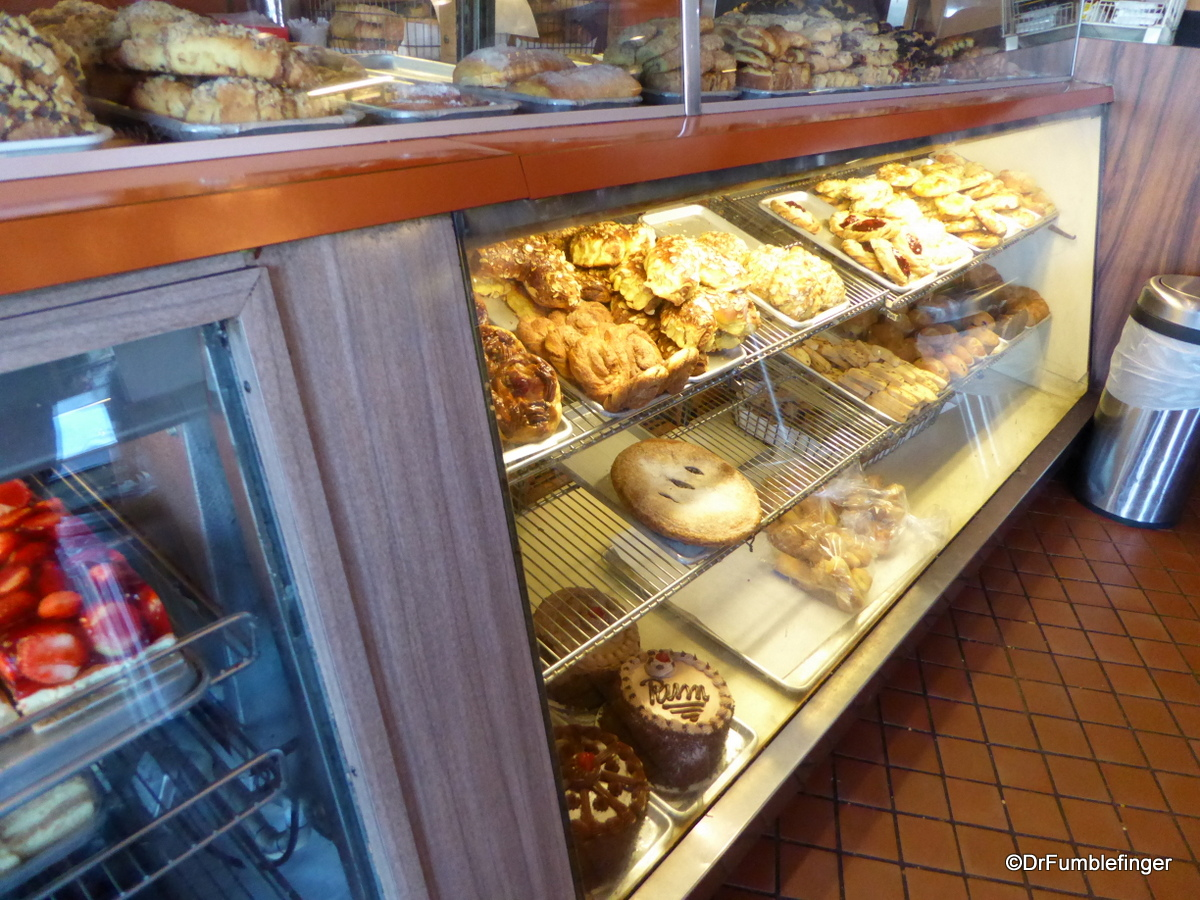 Bakery counter, Canter's Deli, Los Angeles