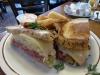 Corned Beef Rueben sandwich, Canter's Deli, Los Angeles