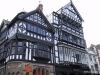 Half-timbered home in Chester.