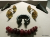 National Museum of Ireland: Archaeology -- amber, gold and clasps