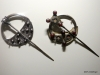 National Museum of Ireland: Archaeology -- Silver annular brooches