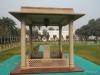 Site of Gandhi's assassination, Gandhi Smriti. Delhi