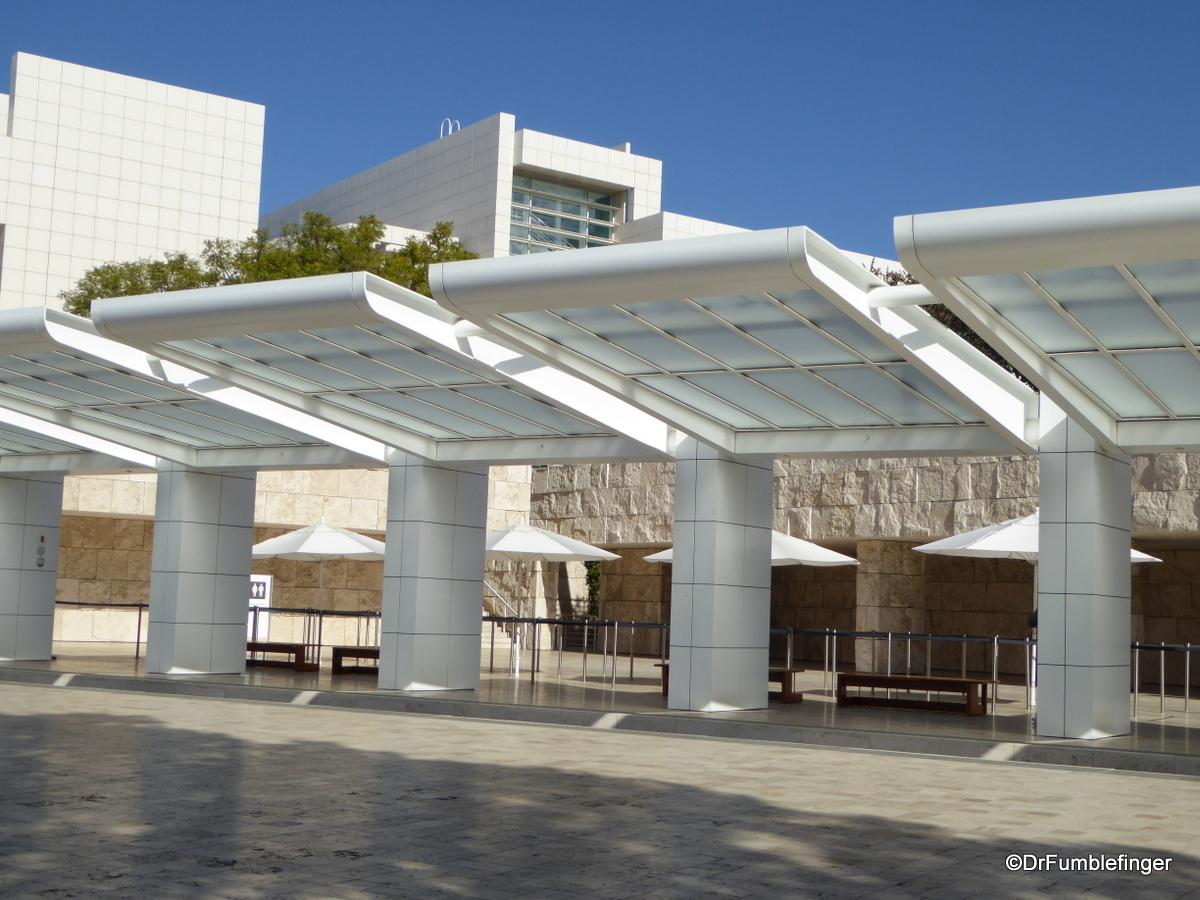 Upper Shuttle Terminal, Getty Center, Los Angeles
