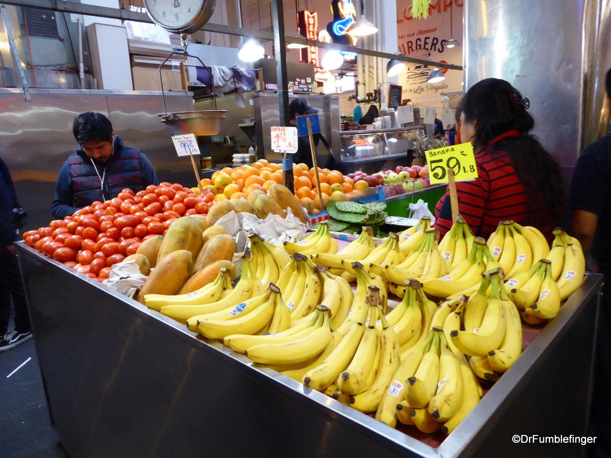 Grand Central Market, Los Angeles