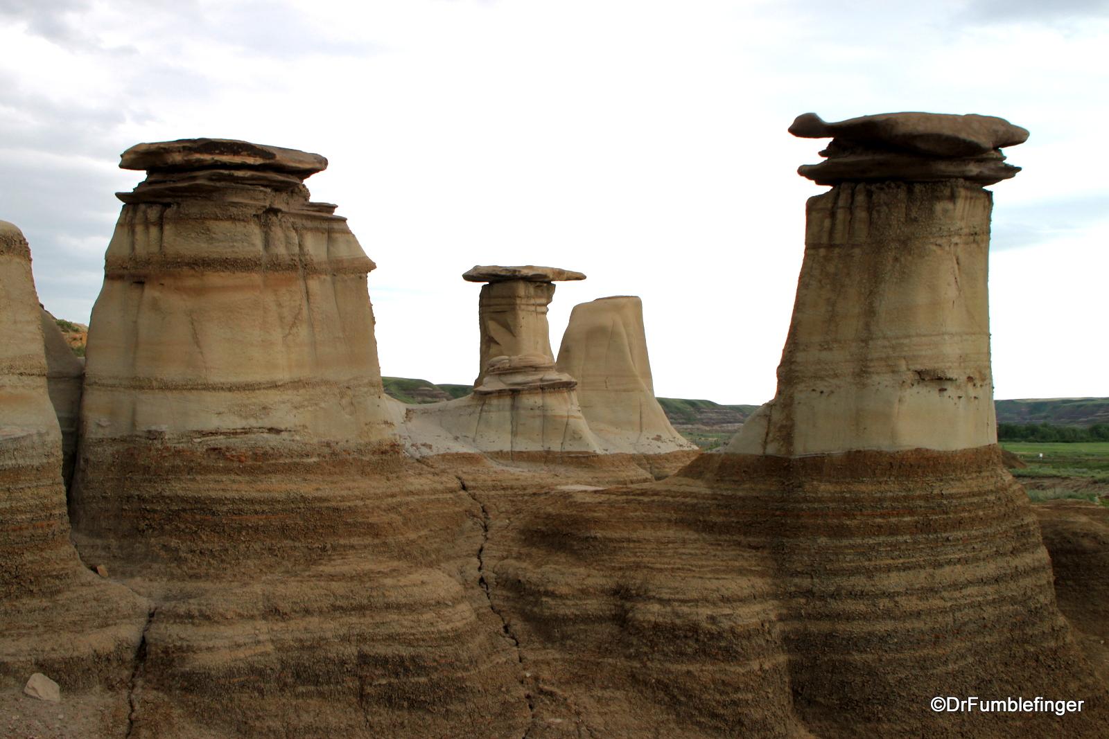 Hoodoos, Drumheller Badlands, Alberta