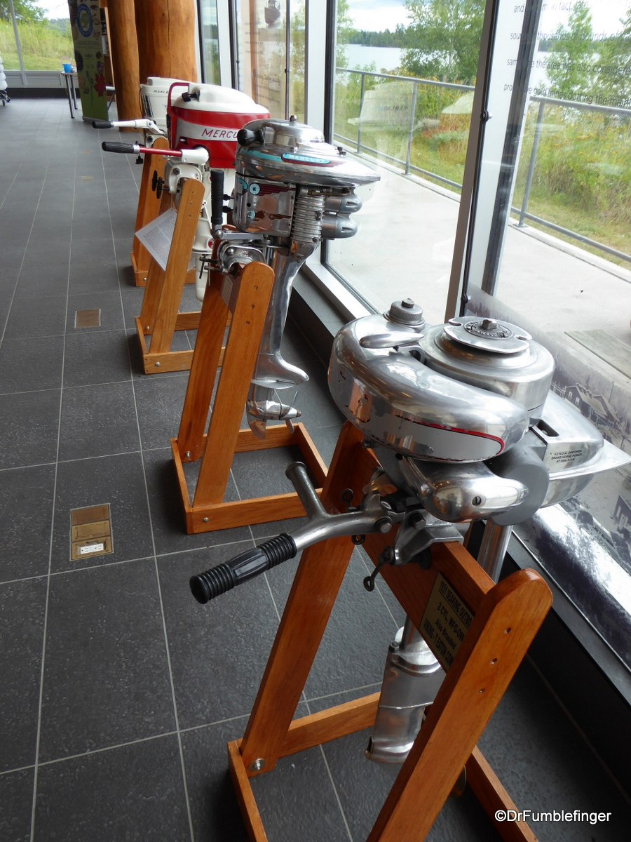 Outboard Motor Display, Kenora Discovery Center
