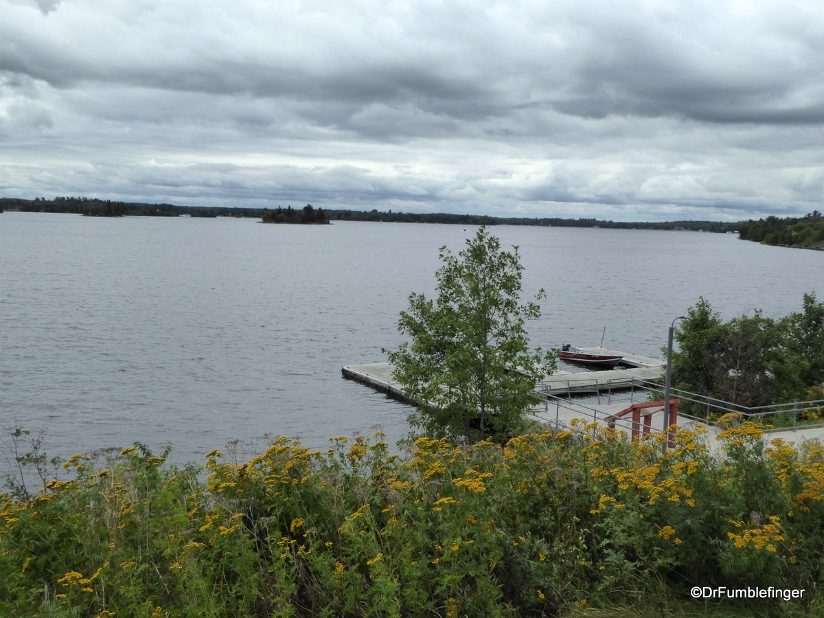 View o Lake of Woods from the Kenora Discovery Center