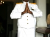 Mr. Kuttan, the greeter at the Galle Face Hotel, Colombo, Sri Lanka