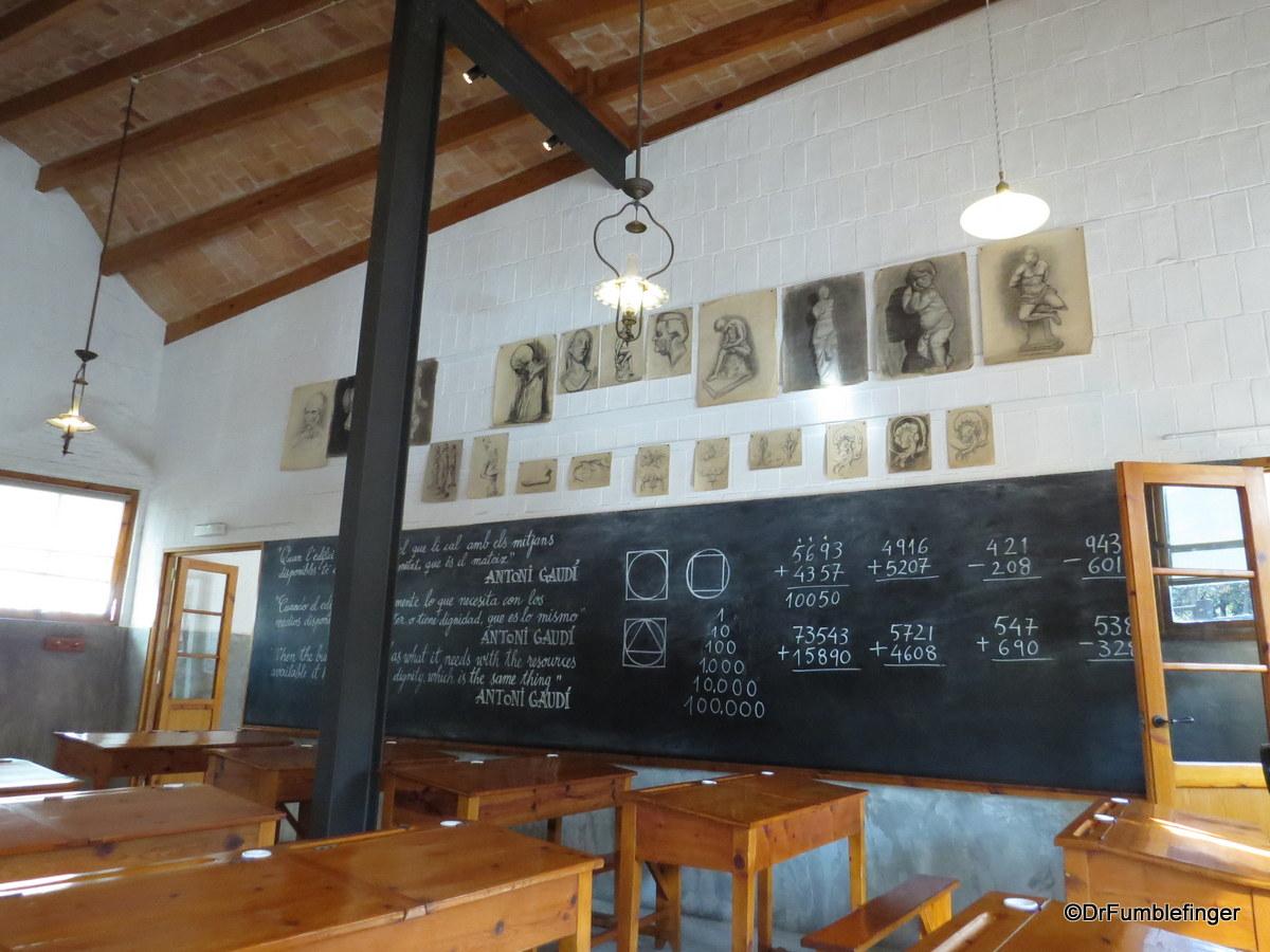 Interior, Sagrada Familia School