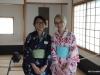 Student hostesses, Nikka Yuko Japanese Garden, Lethbridge