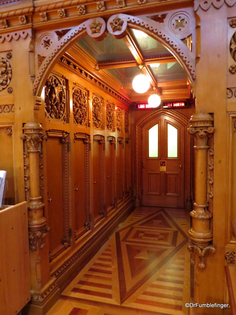 Entry to Parliamentary Library, Ottawa.
