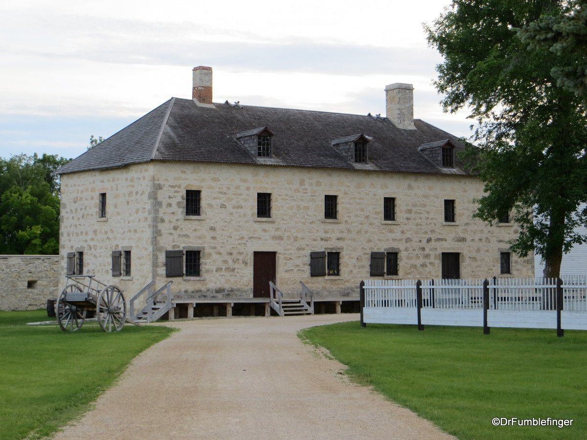 Lower Fort Garry National Historic Site Manitoba
