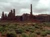 Monument Valley, Utah.  Totems