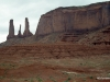 Monument Valley, The Three Sisters