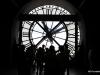 Second floor clock, looking over Paris, Orsay Museum