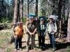 The Fumblefinger family at the Ostrander Lake Trailhead