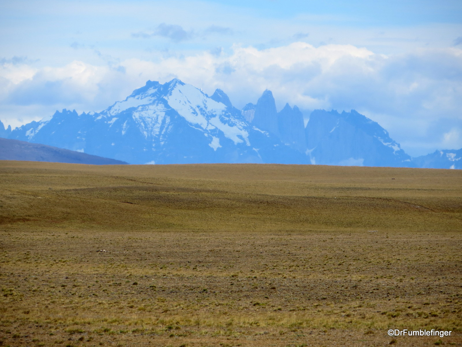 First views of Torres del Paine