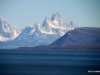 Fitzroy Massif spotted over Lago Viedma