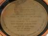 Plaque on the USS Missouri