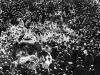 Procession moving Gandhi's body to Raj Ghat
