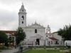 Buenos Aires Recoleta Cemeteryand Iglesia Nuestra Senora del Pilar tower  080