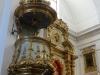 Buenos Aires Recoleta Cemeteryand Iglesia Nuestra Senora del Pilar tower.  pulpit  098
