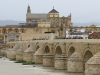 The Roman Bridge and Mezquita, the historic core of Córdoba