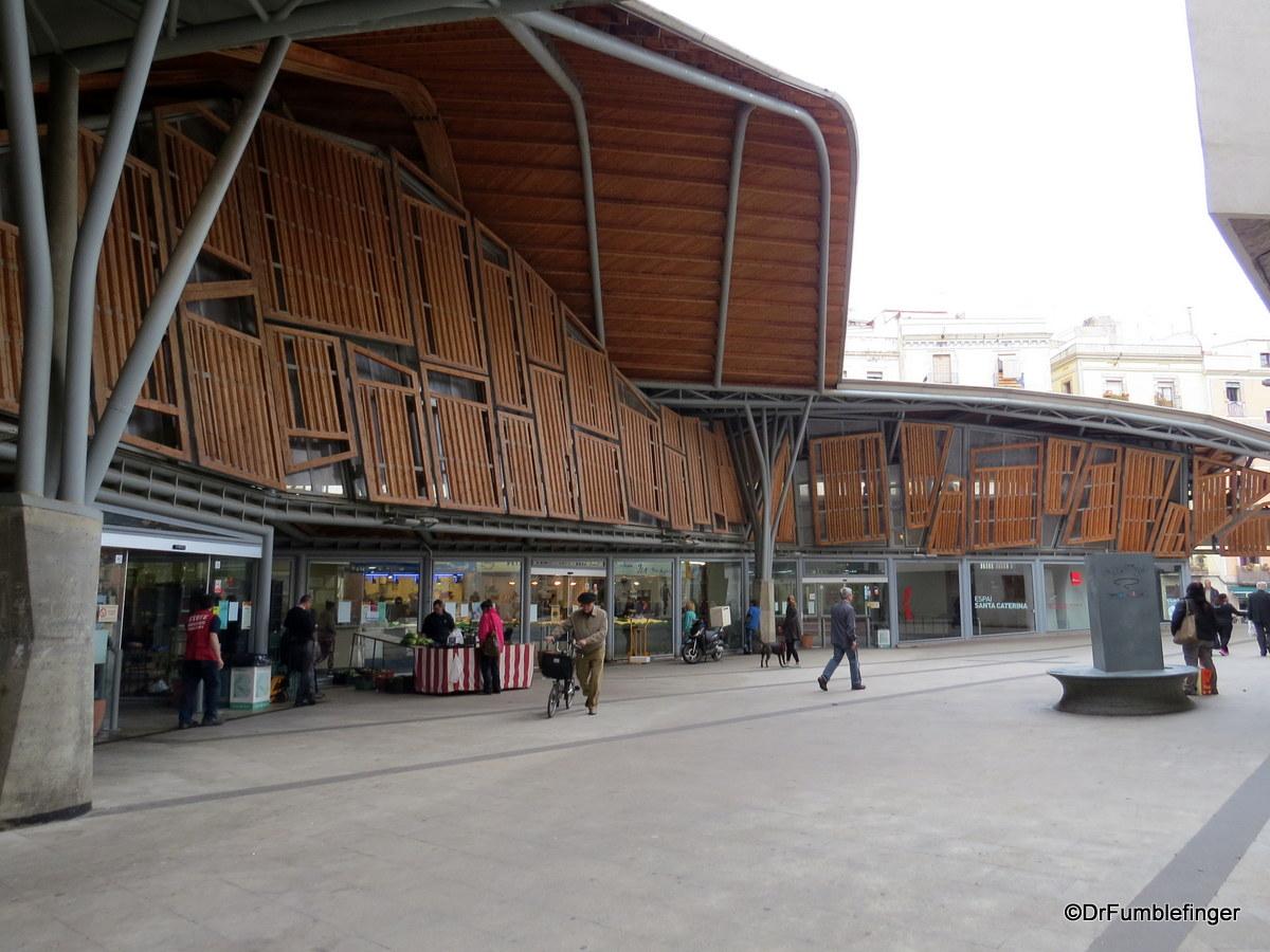Exterior, Santa Caterina Market, Barcelona