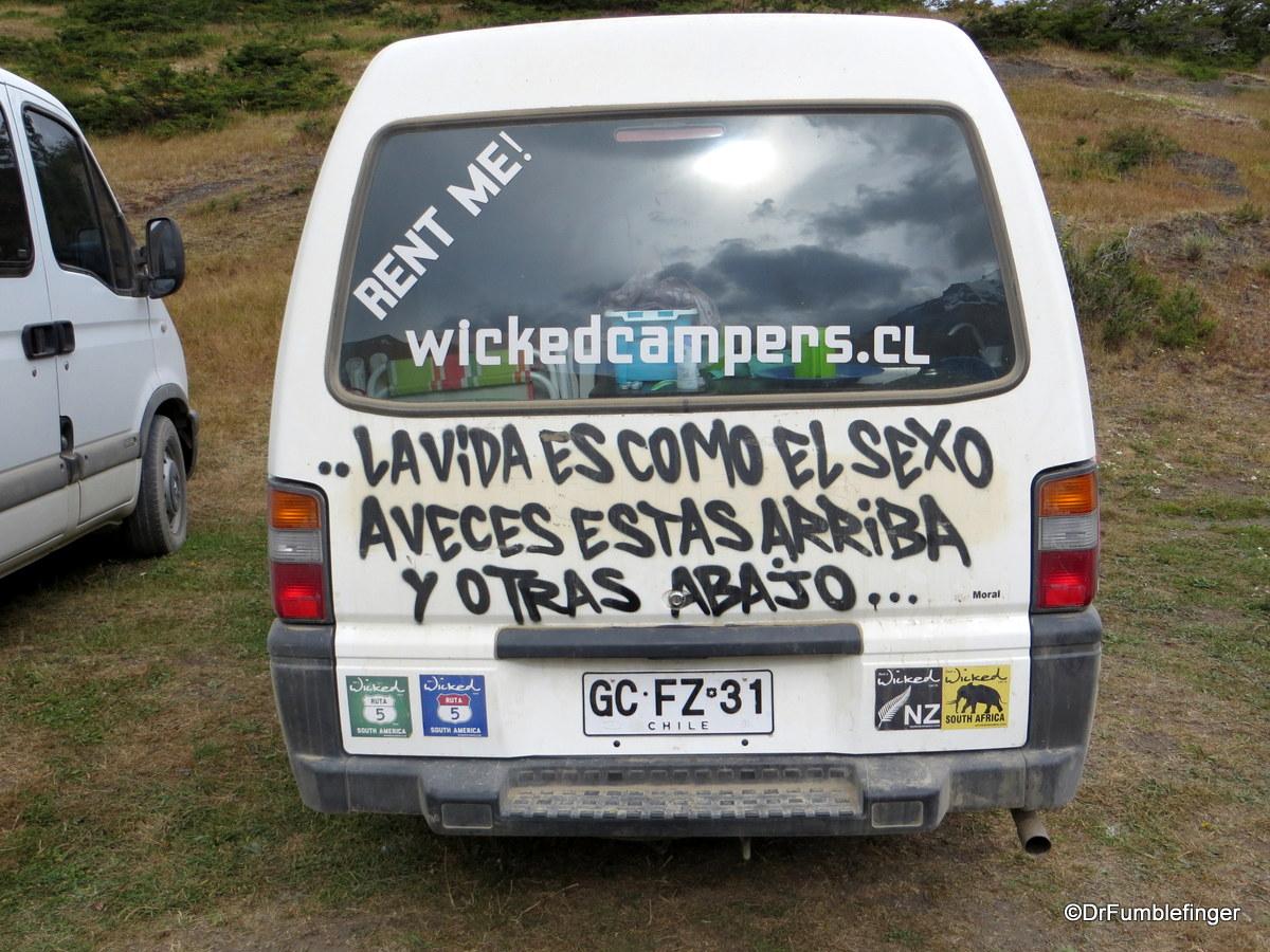 Van, Torres del Paine