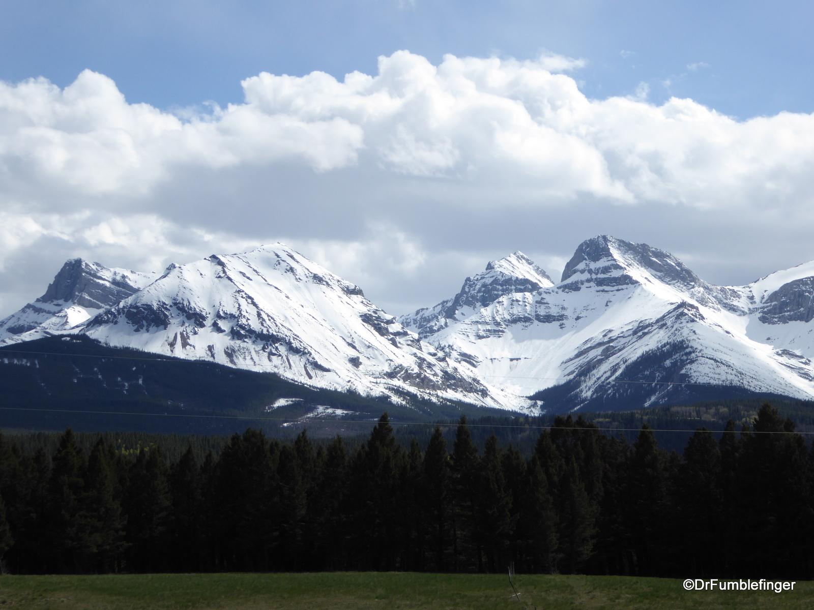 Spring in the Alberta Rockies