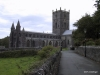 Approach to St. David's Cathedral, Wales
