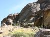 Rocks adjoining Tahquitz Canyon