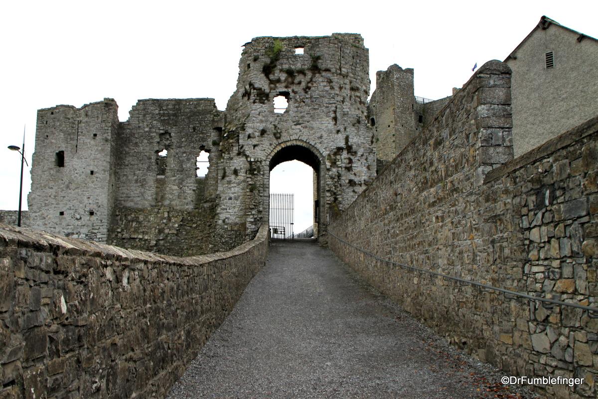 Entrance to Trim Castle, Ireland
