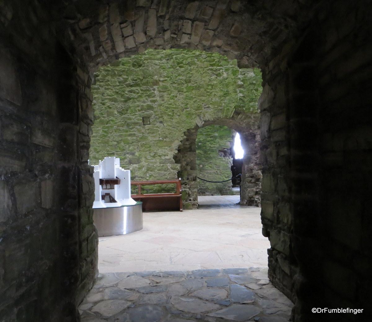 Interior, Trim Castle, Ireland
