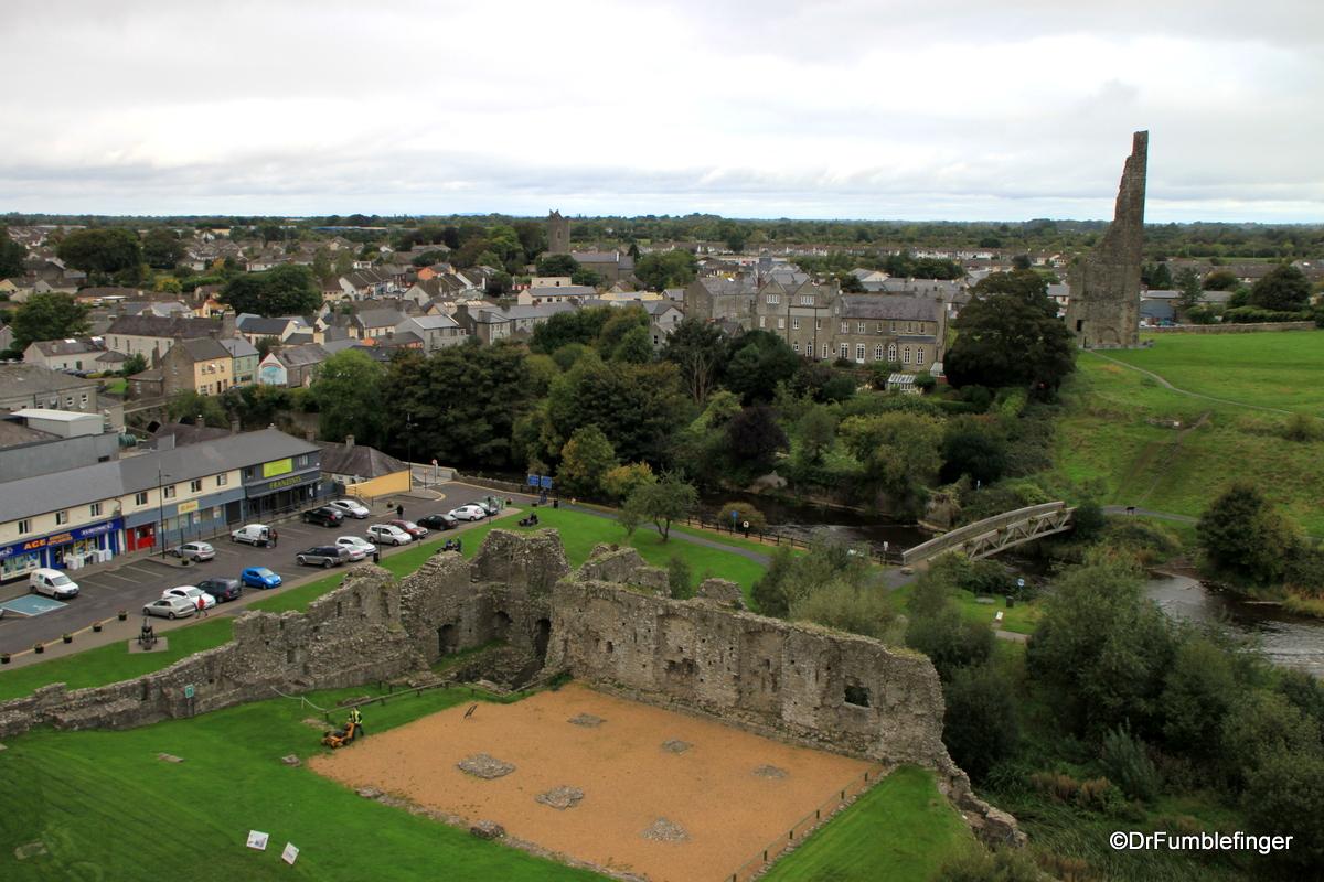 Views from Trim Castle, Ireland