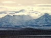 Clearing Winter storm, Rocky Mountains
