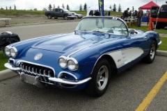 1960 Chevrolet Corvette, Calgary