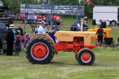 A Tractor Pull in Markerville