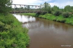 Red Deer River, Markerville