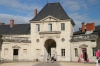 Outer courtyard within Abbaye Fontevraud