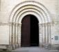 Entrance to church, Fontevraud Abbey