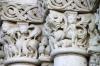 Details of church entrance, Fontevraud Abbey
