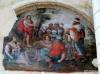 Surviving mural, church, Fontevraud Abbey