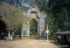Gate, trail to Adam's Peak