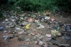 Trash on Trail to Adam's Peak