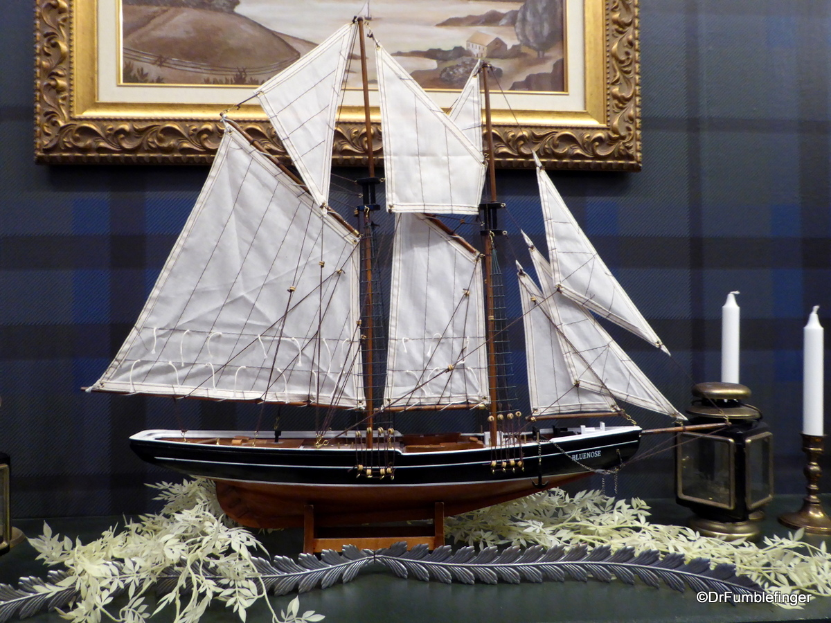 Model of the Bluenose, Alexander Keith's Brewery, Halifax